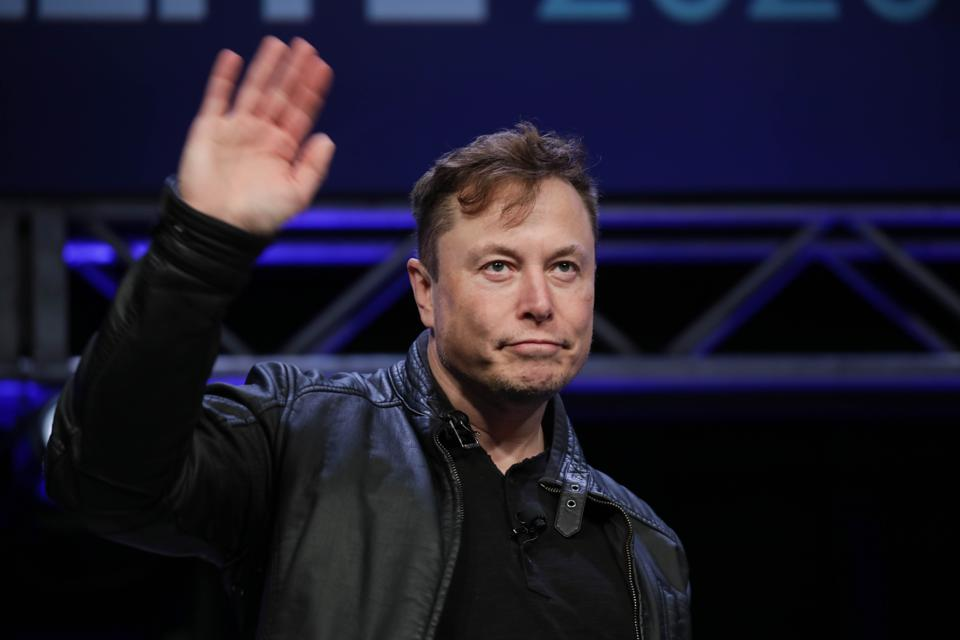 Elon Musk attends SATELLITE 2020 conference