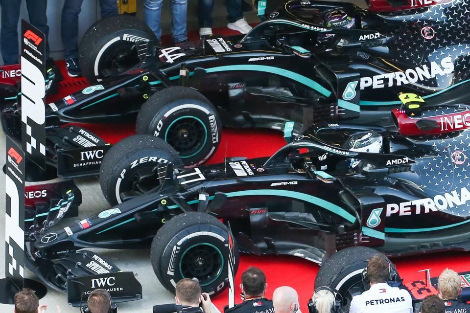 Will the Mercedes Formula One team be considered ″non-core″ or ″winning where it matters″?