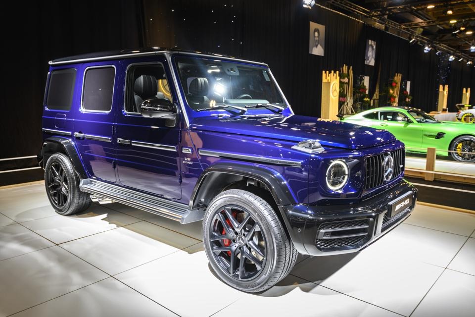 An electric G-Class Mercedes-Benz is on the way.