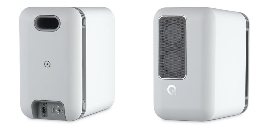 Q Acoustics Q Active 200 front and back