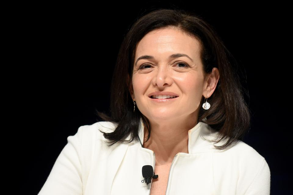 Sheryl Sandberg, Chief Operating Officer of Facebook (Photo by Antoine Antoniol/Getty Images)