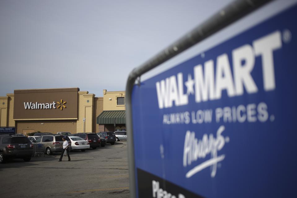 Un emplacement de Wal-Mart Stores Inc. avant les chiffres des bénéfices