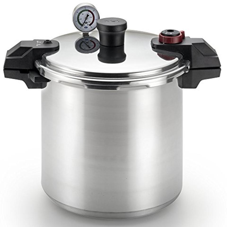 T-fal Pressure Canner with Pressure Control, 22 Quarts