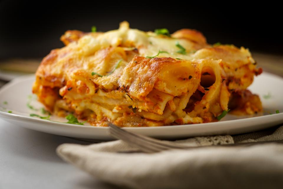 Italian American Baked Ziti