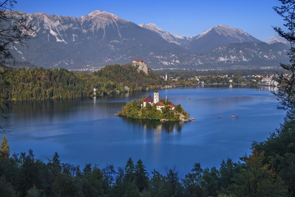 Slovenia, Upper Carniola Lake Bled EU Europe