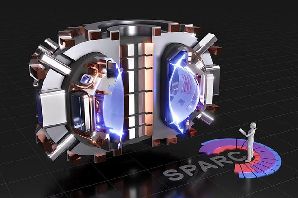 A cutaway image of the proposed SPARC tokamak