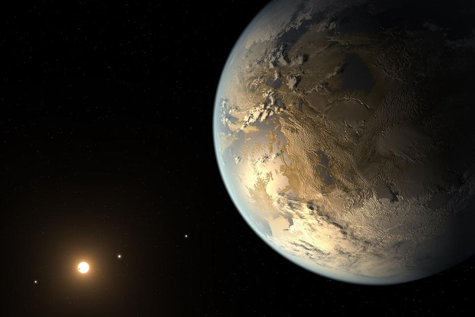 Artist's depiction of the first validated Earth-size planet to orbit a distant star in the habitable zone identified by NASA's Kepler Space Telescope. Researchers are proposing that future telescopes look for planets that are better for life than Earth.