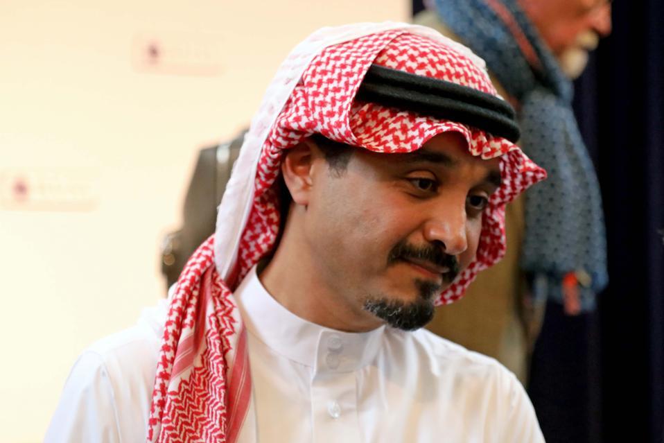 Saudi ambassador to the UK Prince Khalid Bin Bandar, photographed in London on October 14, 2019