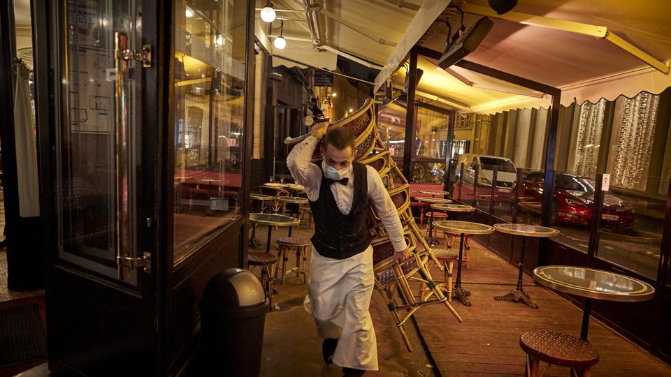 Paris Bars To Close As COVID-19 Alert Is Raised To Maximum