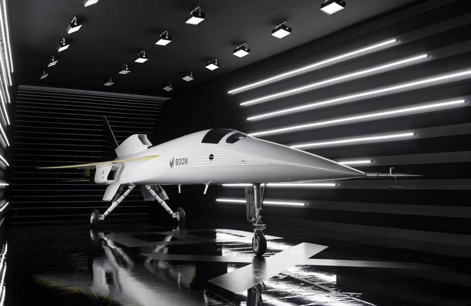 The XB-1 supersonic demonstrator aircraft
