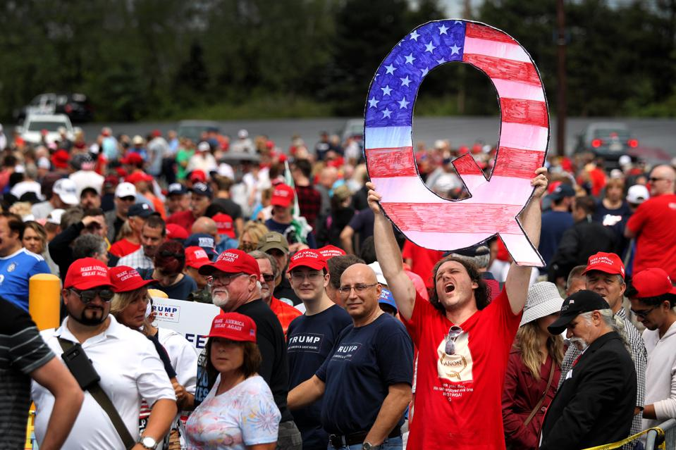 President Trump Holds Make America Great Again Rally In Pennsylvania