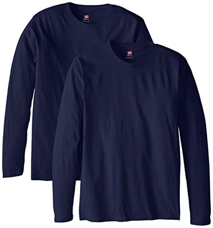 Hanes Men's Long-Sleeve T-Shirt