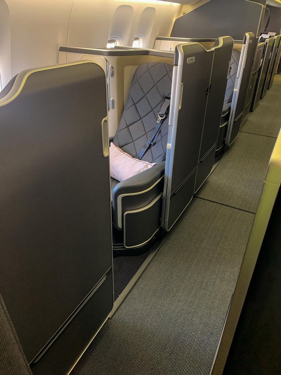 BA first class suite