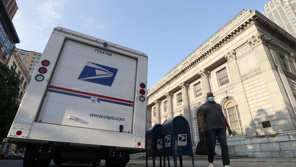 United States Postal Service in Jersey City, New Jersey