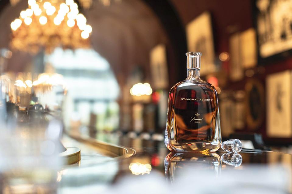 The Woodford Reserve Baccarat Edition is finished in XO Cognac casks.