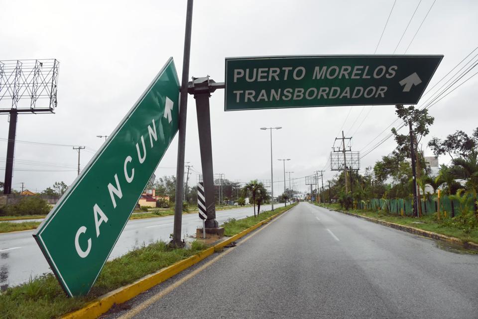 MEXICO-WEATHER-HURRICANE-DELTA