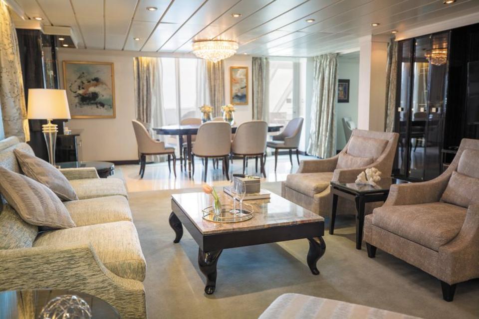 Master Suite on Regent Seven Seas Cruises