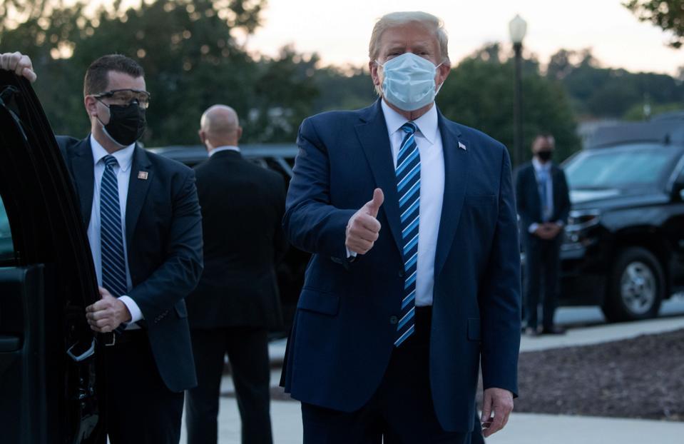 Donald Trump face mask
