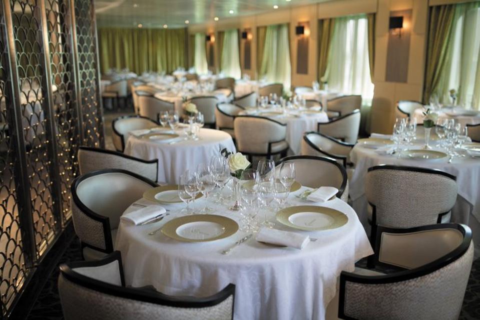 Chartreuse Reetaurant on Regent Seven  Seas Mariner