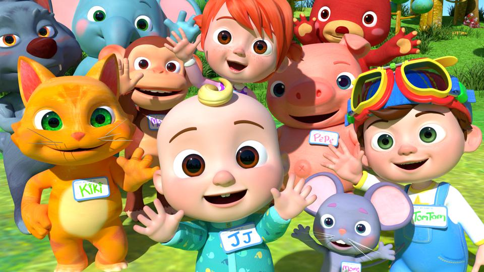 The characters of CoComelon