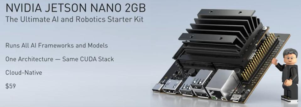 Details of the Jetson 2GB Nano platform