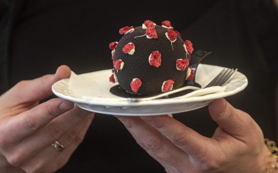 This Coronavirus-Inspired Dessert Is Going 'Viral' In Prague