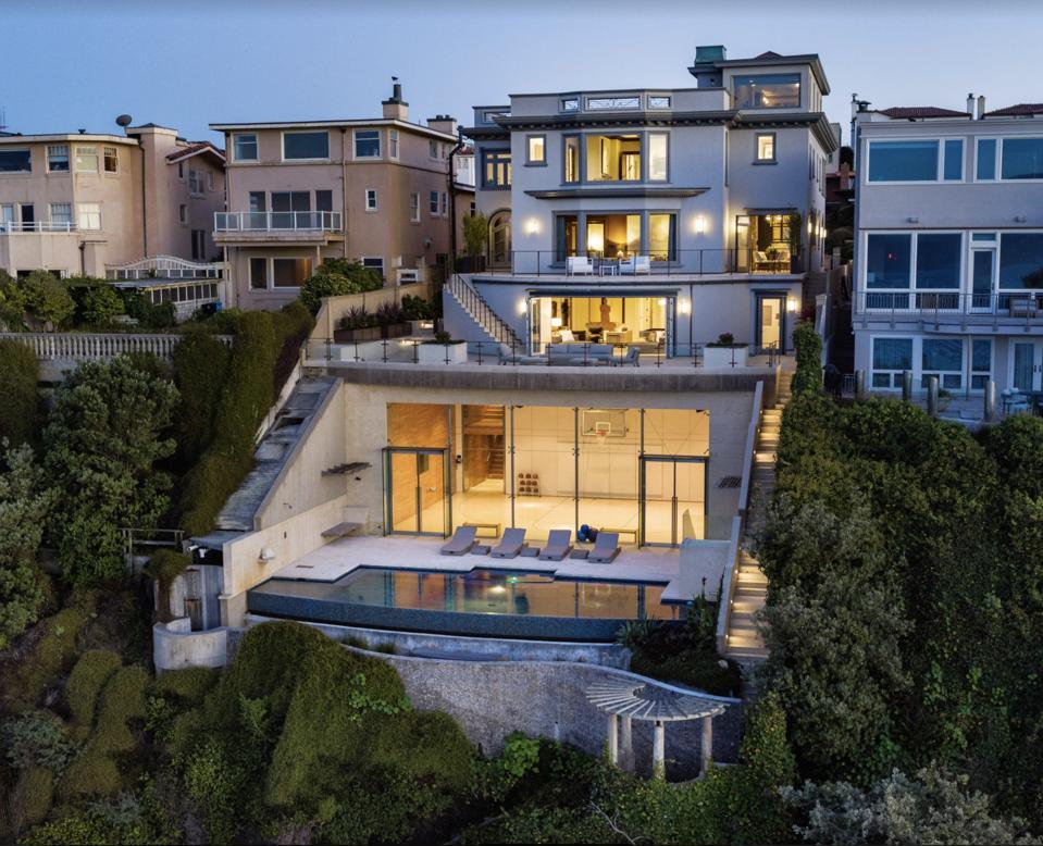 Sea Cliff, San Francisco, Marc Benioff, Jack Dorsey