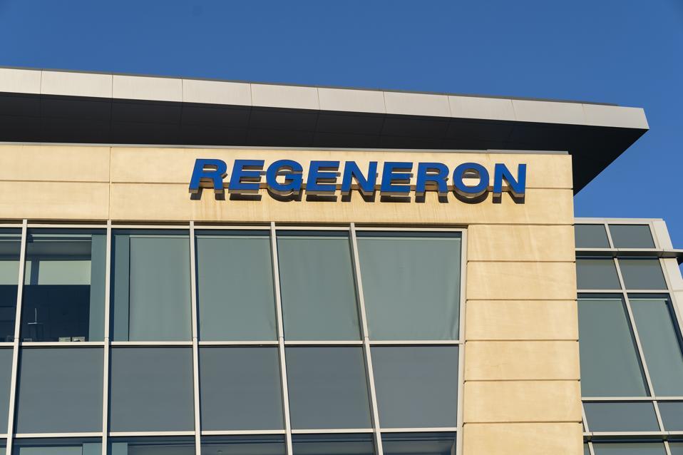 Regeneron headquarters sign