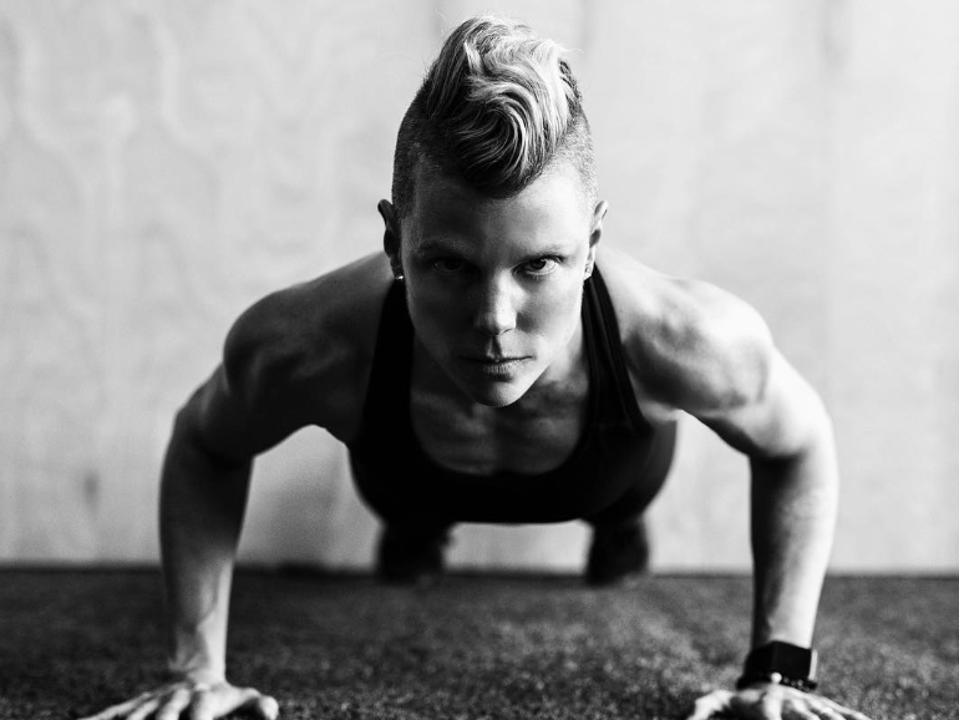 Val Desjardins, Montreal-based fitness trainer