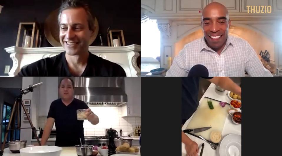 Thuzio Virtual Culinary Experience