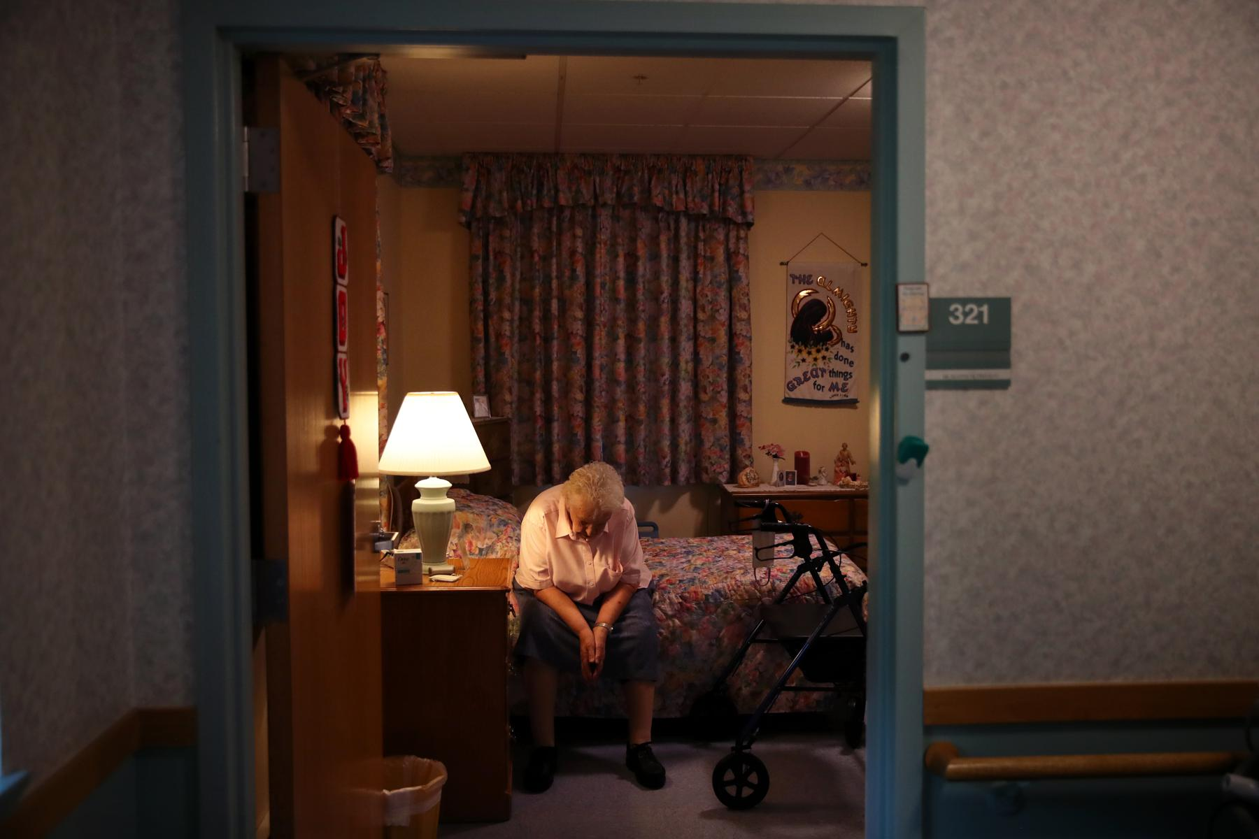 An Inside Look At How Covid-19 Is Driving An Epidemic Of Loneliness In Nursing Homes