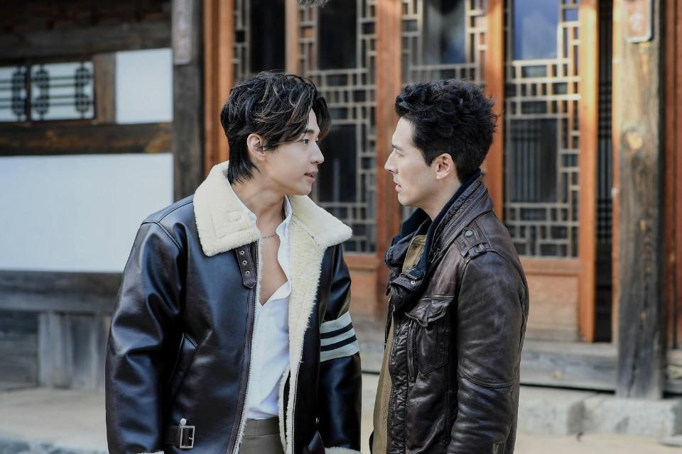 Henry Lau talks to Sean Dulake in the second season of 'Dramaworld.'