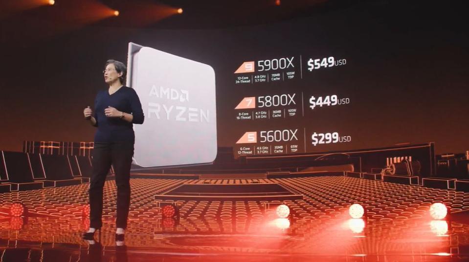 AMD announces four new Ryzen 5000 CPUs including the 16-core Ryzen 9 5950X and 12-core Ryzen 9 5900X
