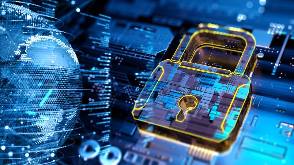 Digital security concept