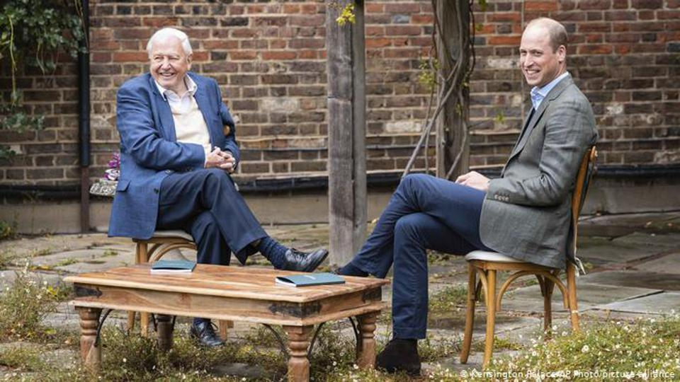 Prince William and Sir David Attenborough launch Earthshot Prize