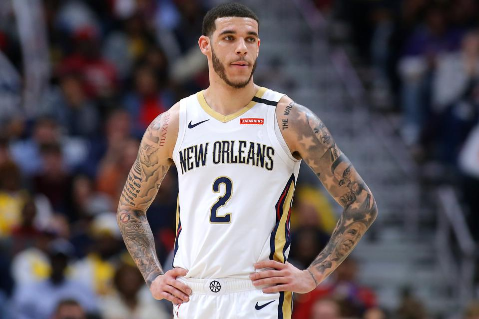 Los Angeles Lakers v New Orleans Pelicans Lonzo Ball