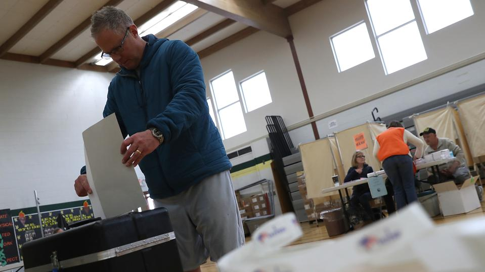 Voters In Montana Head To The Polls In Special Congressional Election