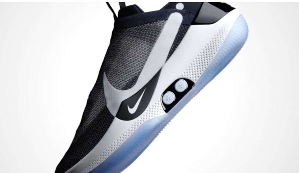 Nike Adapt sneakers tie their own laces.