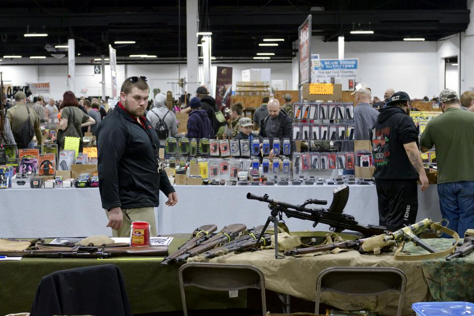 Annual Gun Show in Oaks, Pennsylvania