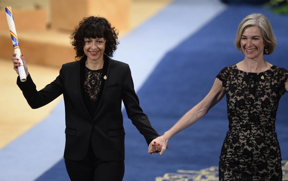 Scientists Jennifer Doudna and Emmanuelle Charpentier, won the Nobel Prize for Chemistry, 2020
