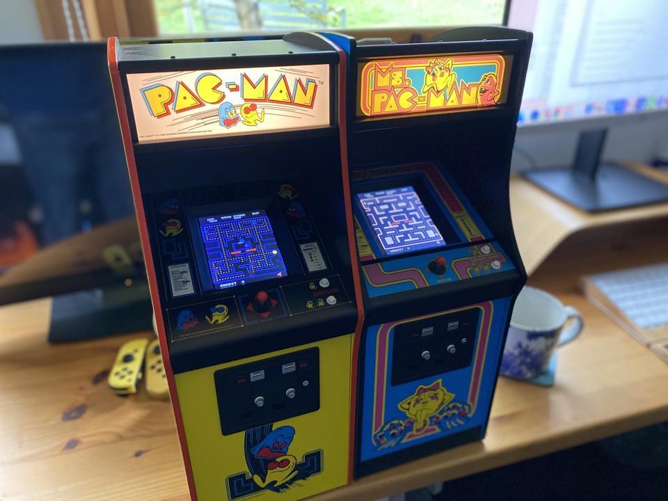 Pac-Man Quarter Scale Arcade