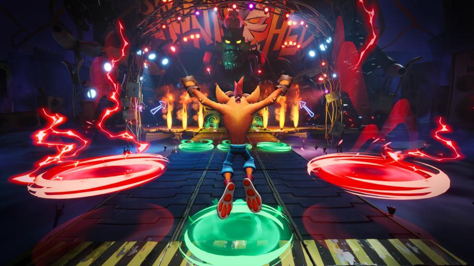 Crash Bandicoot 4 boss