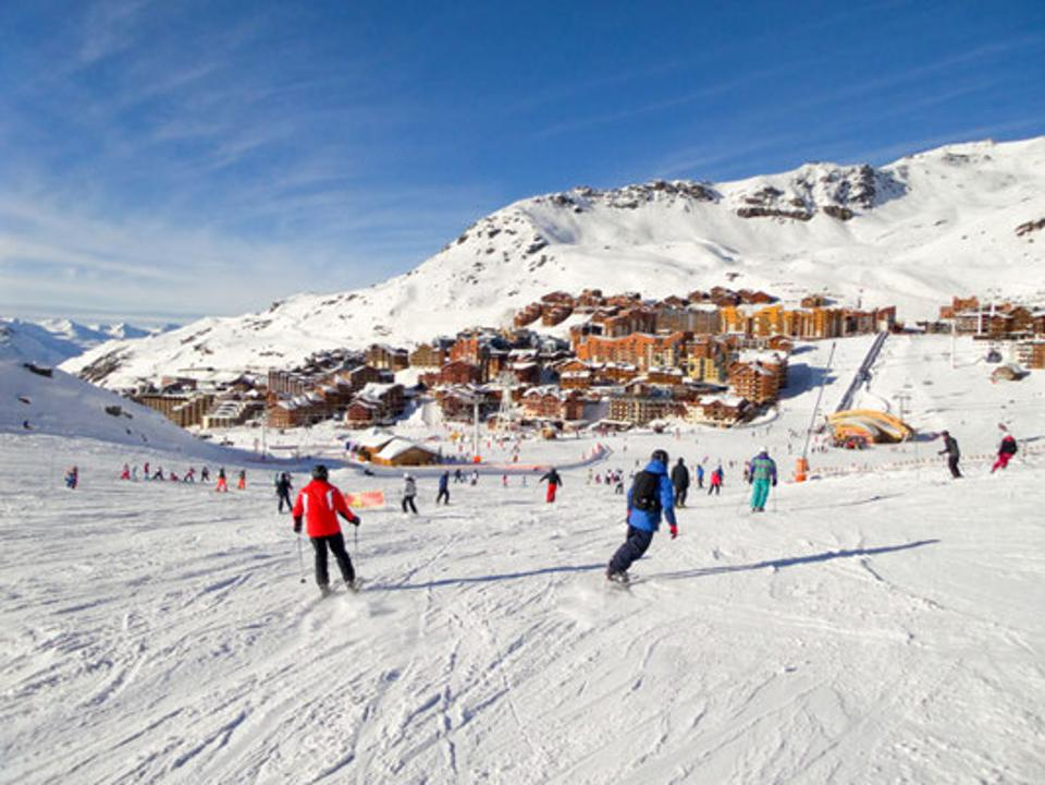 Val Thorens, France, #1 Best Ski Resort in Europe.