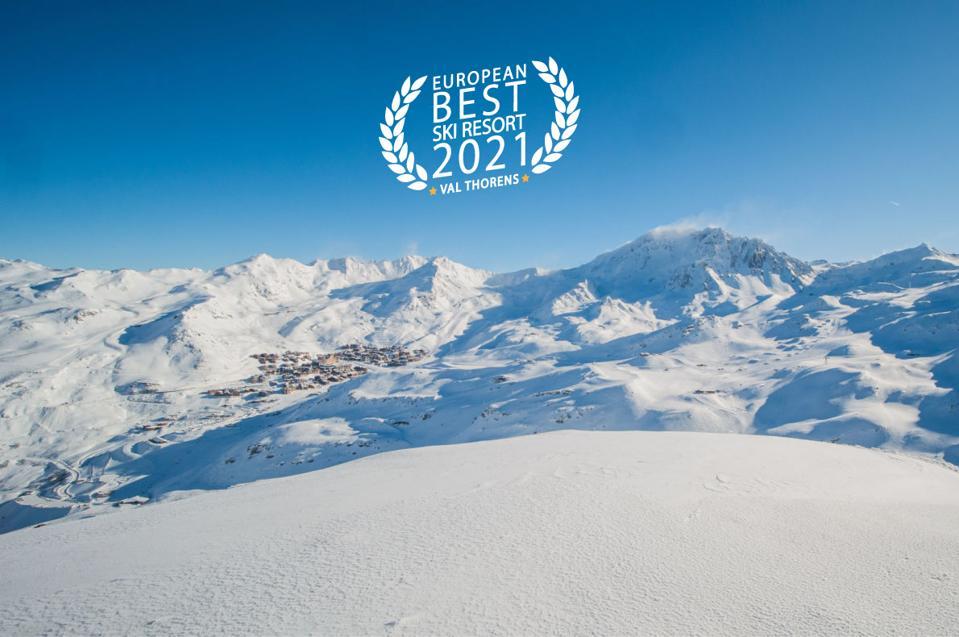 Val Thorens ski resort - France