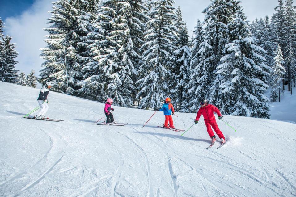 Kitzbühel ski resort- Austria