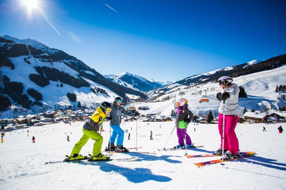 Skicircus Saalbach Hinterglemm Leogang Fieberbrunn ski resort,  Austria