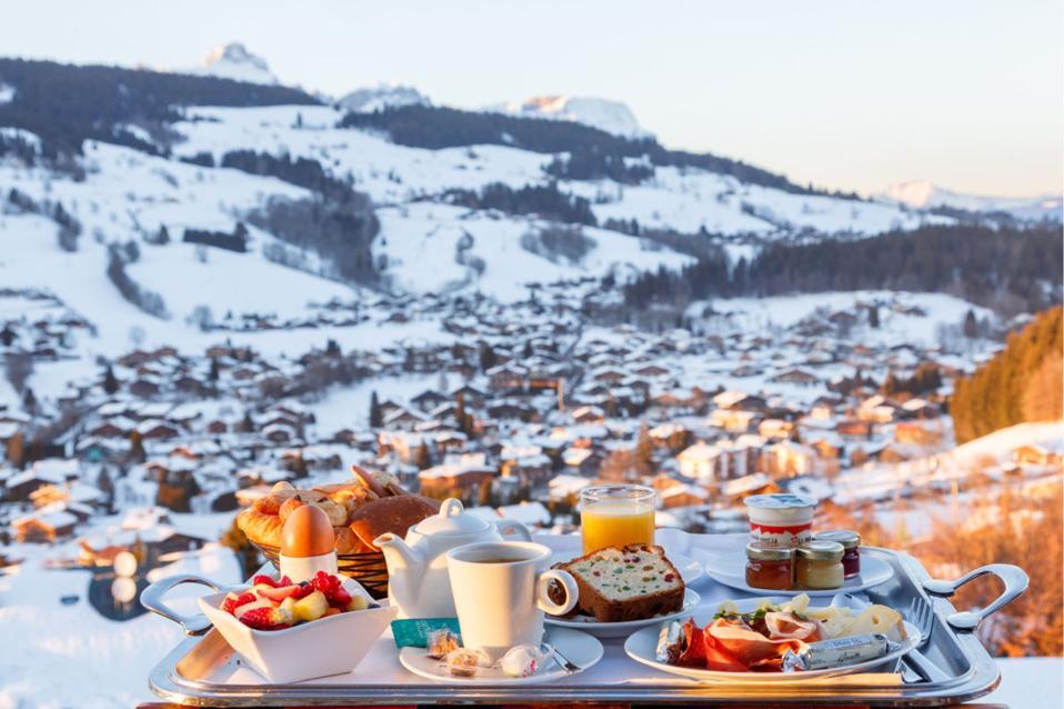 Megève ski resort, France