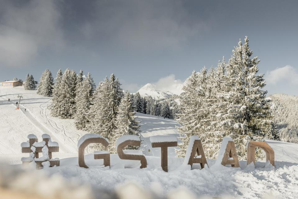 Gstaad  ski resort, Switzerland