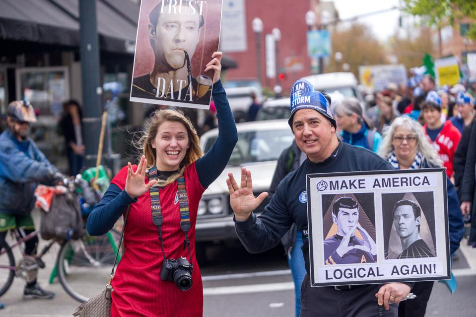 NEWS: APR 14 Portland's March for Science