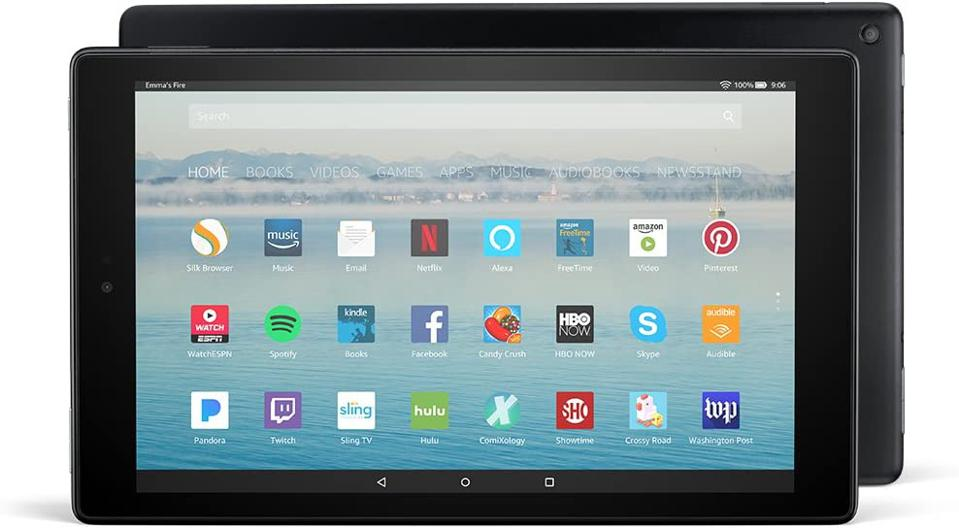 Certified Refurbished Fire HD 10 Tablet with Alexa Hands-Free, 10.1″ 1080p Full HD Display